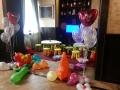 kids corner cu WII, baloane si jocuri copii