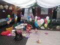 kids corner cu masina vata zahar copii si baloane