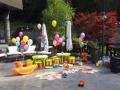 kids corner cu jucarii si baloane