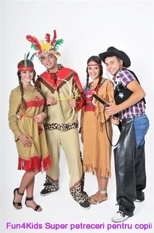 Cowboy si indieni