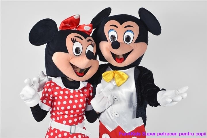 Mascote Mickey si Minnie Mouse