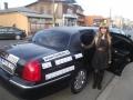 Hannah Montana cu limuzina VIP Partry