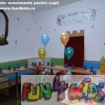 loc de luat masa locatie petreceri copii Fun4Kids Ploiesti