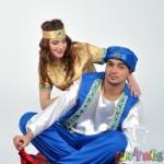 Inchiriere animatori petreceri copii Aladin si Jasmine